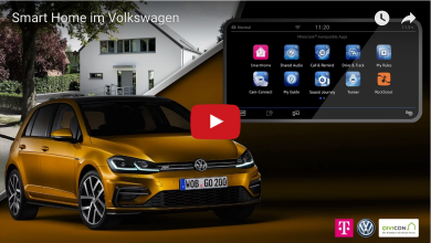 Volkswagen, MirrorLink & Telekom Smart Home auf der CeBIT 2017